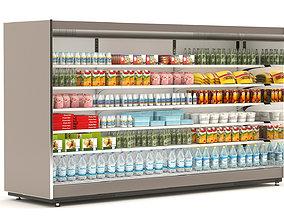 Supermarket Equipment 3D model volume