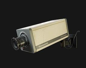 CCTV Camera 3D model VR / AR ready