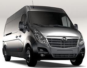 Opel Movano L3H2 Van 2016 3D
