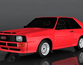 3D model game-ready Audi Sport quattro