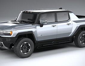 3D model Hummer EV 2022