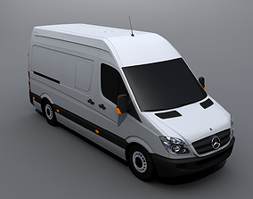 3D asset Mercedes-Benz Sprinter