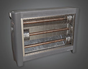 Portable Heater HVM - PBR Game Ready 3D model