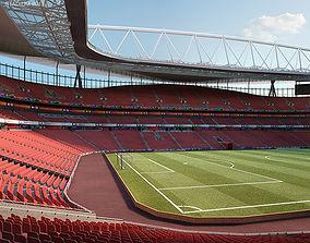 Emirates Stadium 3D model