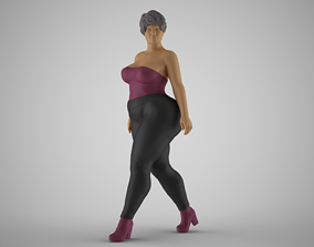 Sumptuous Woman 3D print model