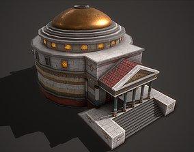 Ancient Pantheon 3D asset