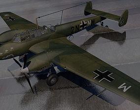 Messerschmitt Bf-110C-3 3D model