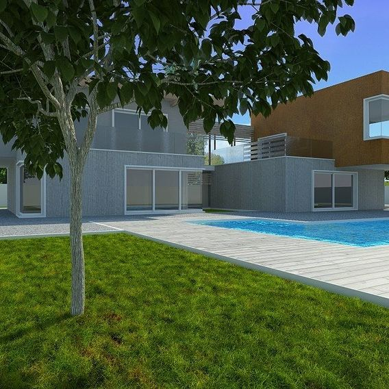 Architecture modeling and Relative renderings