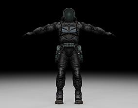 Stalker - Mercenary 09 3D model