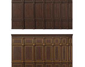 Wooden panel 07 3D model