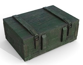 Military Case 3D asset realtime PBR