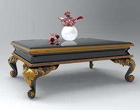 3D coffee table medium