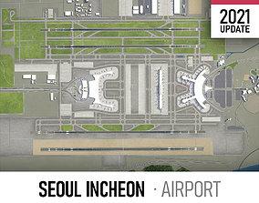 Seoul Incheon Airport 3D model