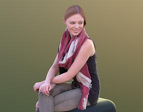 Valeska 10243 - Sitting Casual Girl 3D model