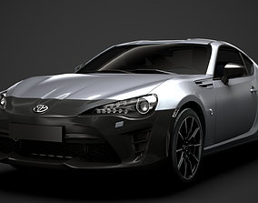 3D Toyota RC 86 2020