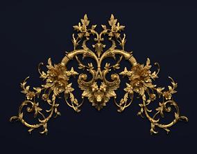 Classic decor ornament v-3D model 57 architectural