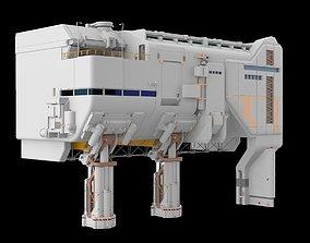 3D sci-fi architecture 6