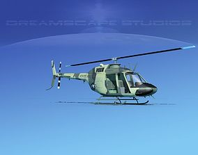 3D model Bell OH-58B US Army 5