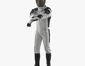 3D model Futuristic Space Suit Rigged space