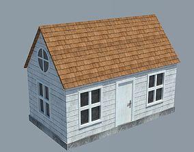 3D asset realtime Cabin 01