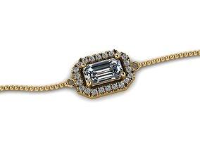 diamond-ring 3D printable model Brecelet