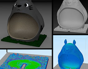 escurridor Totoro 3D printable model