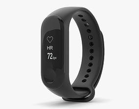 3D model Xiaomi Mi Band 3 Graphite Black