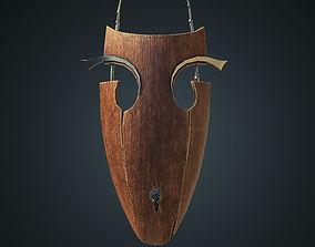Old vampires mask 3D model