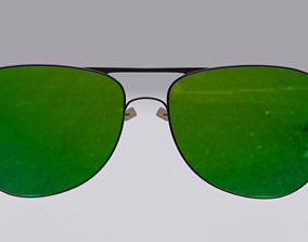 glasses 3D asset game-ready other