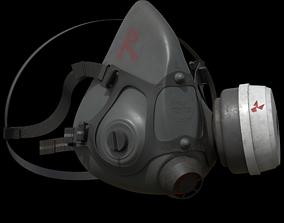 industrial Respirator 3D model