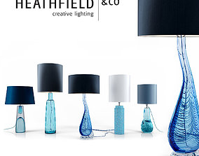 HeathfieldandCo Table Lamps decorative design 3D model 1