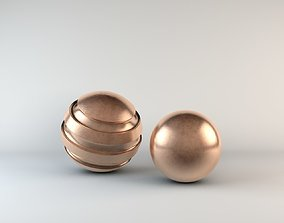 3D model 21 Metal Shaders for Cinema4d