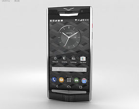 Vertu Signature Touch 2015 Jet Calf 3D