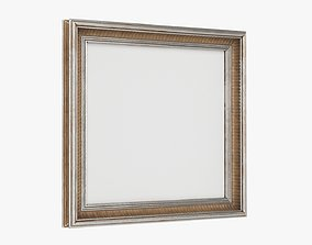 Frame square with picture 04 3D
