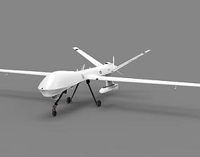 MQ-9 Military Aircraft Drone 3D asset