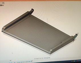 HP 4500 Tray 3D print model