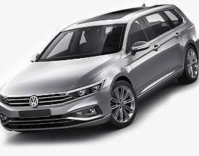 VW Passat Variant 2020 3D