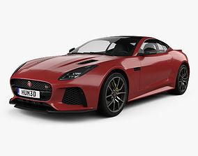 3D Jaguar F-Type SVR Coupe 2017