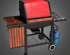 Home Grill TLS - PBR Game Ready 3D model