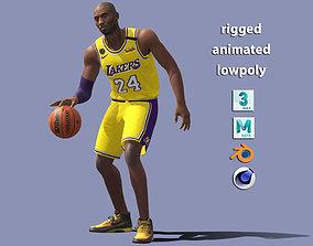 Kobe Bryant NBA 3D asset