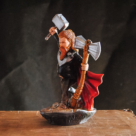Fat Thor Avengers Endgame - 3D Printable Model