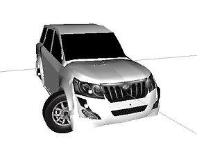 Mahindra Xuv500 W10 3D print model