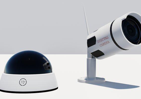 Security Camera 3D models