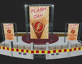 3D asset The flash Day- CW Flash