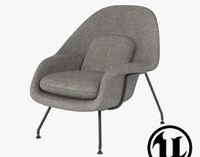 Eero S Womb Chair UE4 3D model