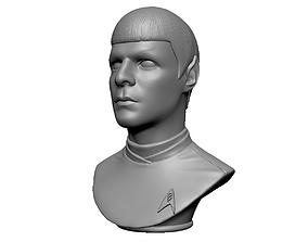 Spock from Star Trek Beyond 3D printable model