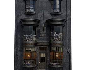 Ollivanders Wand Shop 3D model