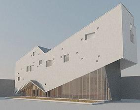 Interesting shaped House 3D