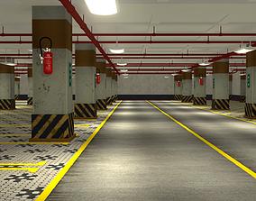 Parking 3D model interior