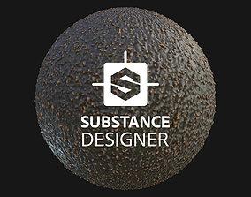 3D Avocado Skin - Procedural Material